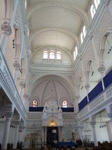 Abb. 5 Neologe Synagogue, Innenraum
